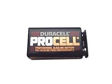 9 Volt Duracell Battery Geniedoor Garage