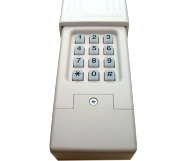 Universal keyless entry wireless geniedoor garage for 12 volt battery for garage door keypad