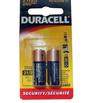12 Volt Alkaline Battery 2 Pack For Garage